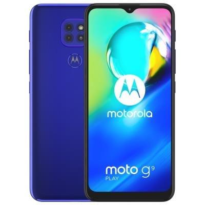 Motorola Moto G9 Play modrý