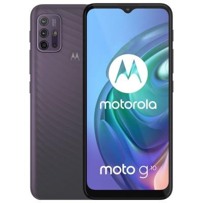 Motorola Moto G10 šedý