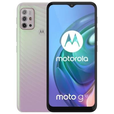 Motorola Moto G10 stříbrný