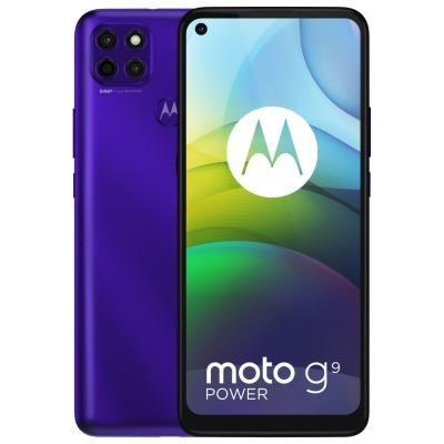 Motorola Moto G9 Power fialový