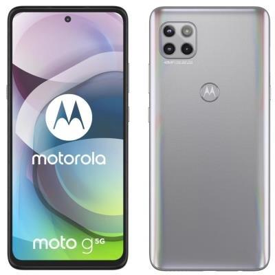 Motorola Moto G 5G stříbrný