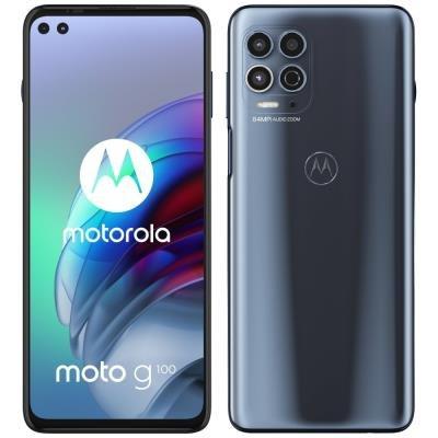 Motorola Moto G100 šedý