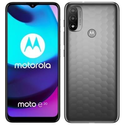 Motorola Moto E20 šedý