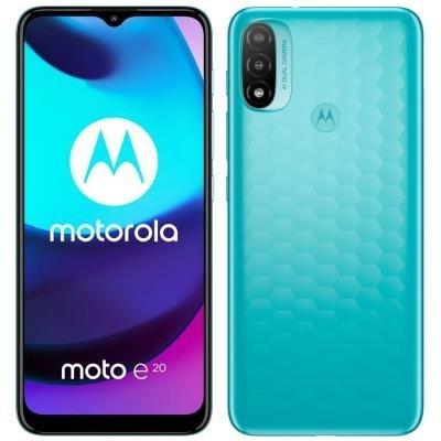 Motorola Moto E20 modrý