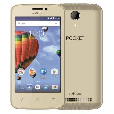 Mobilní telefon myPhone Pocket zlatý