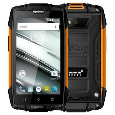 Mobilní telefon myPhone Hammer Iron 2 oranžový