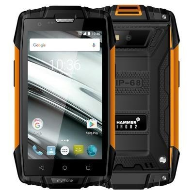 myPhone Hammer Iron 2 - oranžovo-černý   4