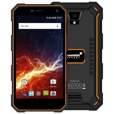 myPhone Hammer Energy - oranžovo-černý   5