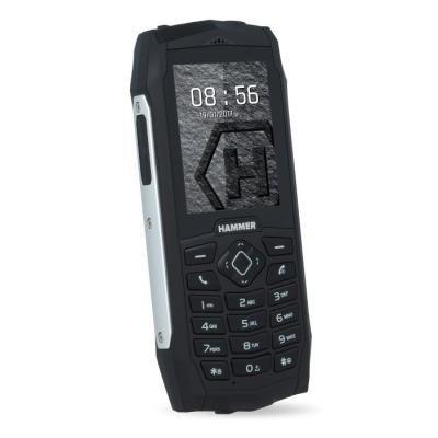 Mobilní telefon myPhone HAMMER 3 stříbrný