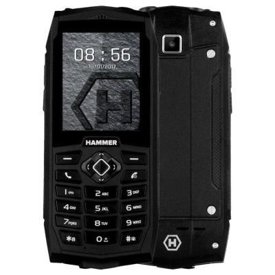 Mobilní telefon myPhone HAMMER 3 Plus černý