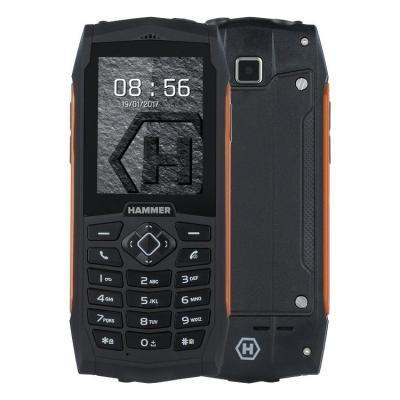 Mobilní telefon myPhone HAMMER 3 Plus oranžový