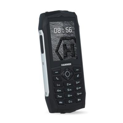 Mobilní telefon myPhone HAMMER 3 Plus stříbrný