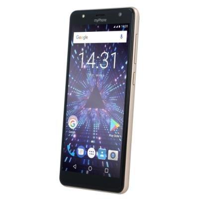 Mobilní telefon myPhone Pocket 18x9 zlatý