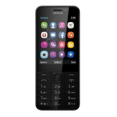 Mobilní telefon Nokia 230 Dual SIM černý