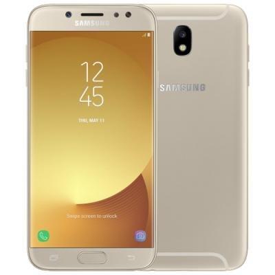 Mobilní telefon Samsung Galaxy J7 2017 zlatý