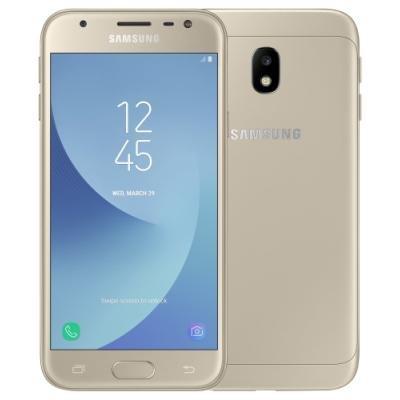 Mobilní telefon Samsung Galaxy J3 2017 zlatý