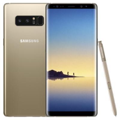 Mobilní telefon Samsung Galaxy Note 8 zlatý