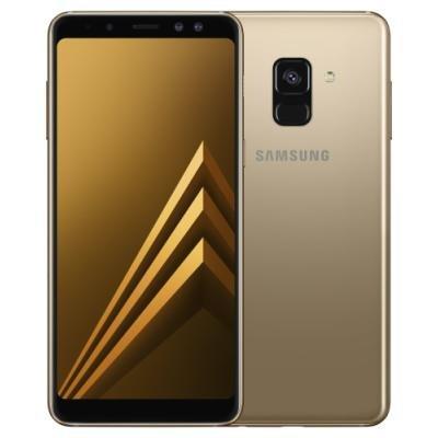 Mobilní telefon Samsung Galaxy A8 zlatý