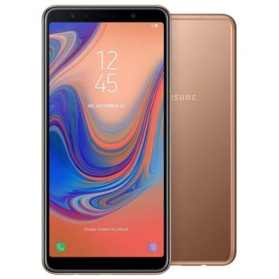 Mobilní telefon Samsung Galaxy A7 zlatý
