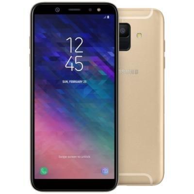 Mobilní telefon Samsung Galaxy A6 zlatý