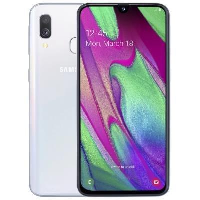 Samsung Galaxy A40 (A405) - white   5,9