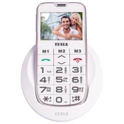 Mobilní telefon TESLA SimplePhone A50 bílý