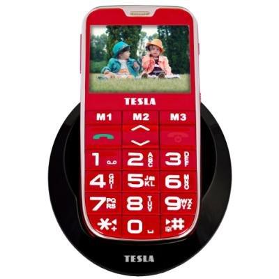 Mobilní telefon TESLA SimplePhone A50 červený