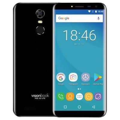 Mobilní telefon UMAX VisionBook P55 X2 LTE černý