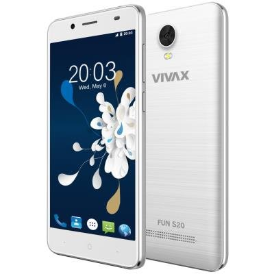 Mobilní telefon VIVAX Fun S20 bílý