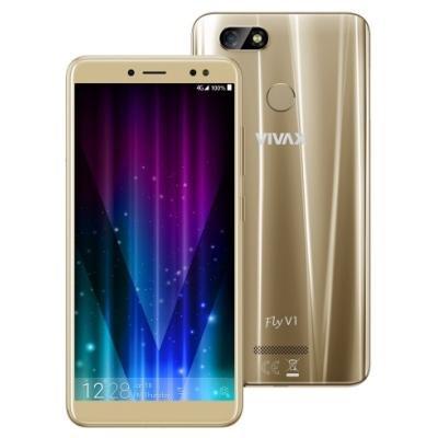 Mobilní telefon VIVAX Fly V1 zlatý