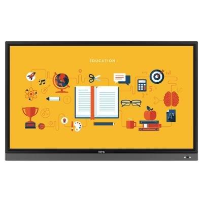 "BENQ panel 86"" RM8601K/ dotykový interaktivní/ UHD 4K/ provoz 18/7/ 5x HDMI/ RS232/ RJ45/ 4x USB/ Android"