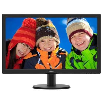 """PHILIPS 23,6"""" LED 243V5LHAB/ 1920x1080/ TFT/ 16:9/ 5ms/ 250cd/m2/ HDMI/ DVI/ D-SUB/ Repro/ VESA 100x100"""