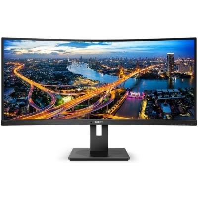 """PHILIPS 34"""" LED 345B1C/00/ 3440x1440/ 300cd/ 2x HDMI/ DP / 4x USB/ repro"""