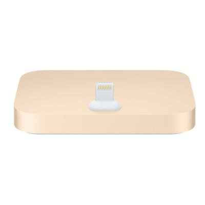 Dokovací stanice Apple iPhone Lightning Dock zlatá