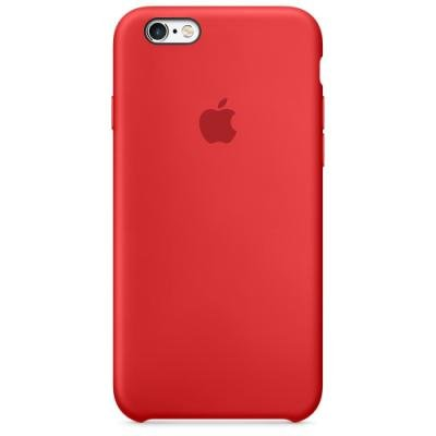 Apple Silicon case pro iPhone 6s, (PRODUCT)RED