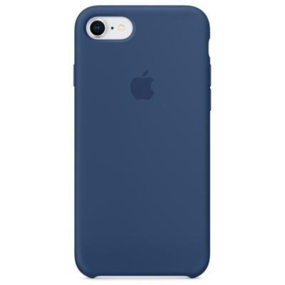 Apple iPhone 8/7 Silicone Case - Blue Cobalt