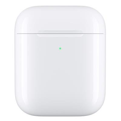 Pouzdro Apple dobíjecí bezdrátové pro AirPods bílé