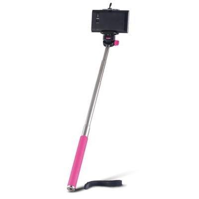 FOREVER MP-300 selfie tyčka bez ovládacího tlačítka - růžová