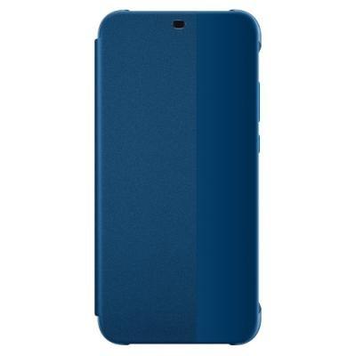 Pouzdro Huawei View Cover pro P20 Lite modré