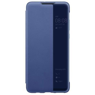 Pouzdro Huawei View Cover pro P30 Lite modré