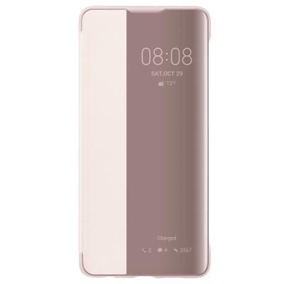 Pouzdro Huawei Smart View pro P30 růžové