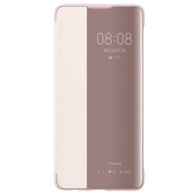 Pouzdro Huawei Smart View pro P30 Pro růžové