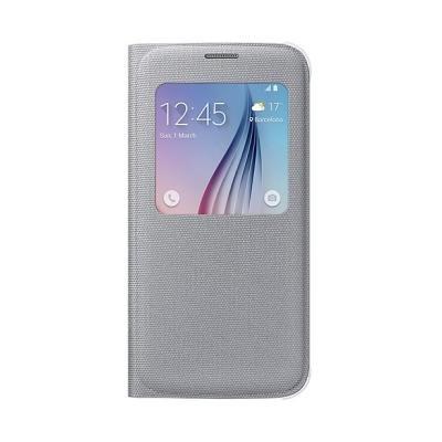 Pouzdro Samsung pro Galaxy S6 stříbrné
