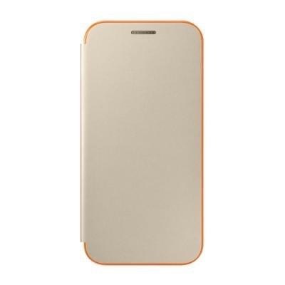 Pouzdro Samsung pro Galaxy A3 2017 neónové zlaté