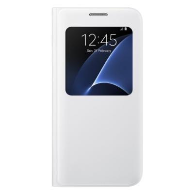Pouzdro Samsung S-View pro Galaxy S7 bílé