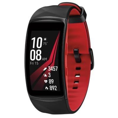 Fitness náramek Samsung Gear Fit2 Pro černočervený