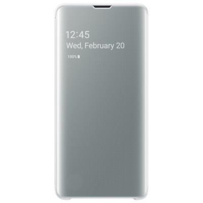Pouzdro Samsung Clear View pro Galaxy S10 bílé