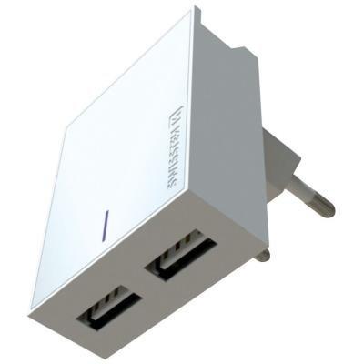 Napájecí adaptér SWISSTEN 2x USB-A + USB-C 3A