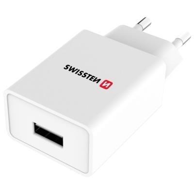 Napájecí adaptér SWISSTEN USB-A + microUSB 1A
