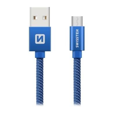 Kabel SWISSTEN USB 2.0 typ A na micro B 0,2m